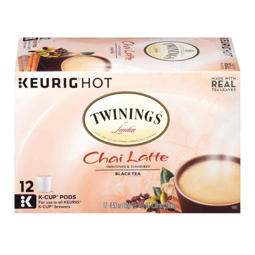 Twinings Chai Latte K-Cups - 12 count