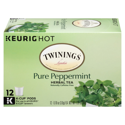Twinings Peppermint Tea K-Cups - 12 count