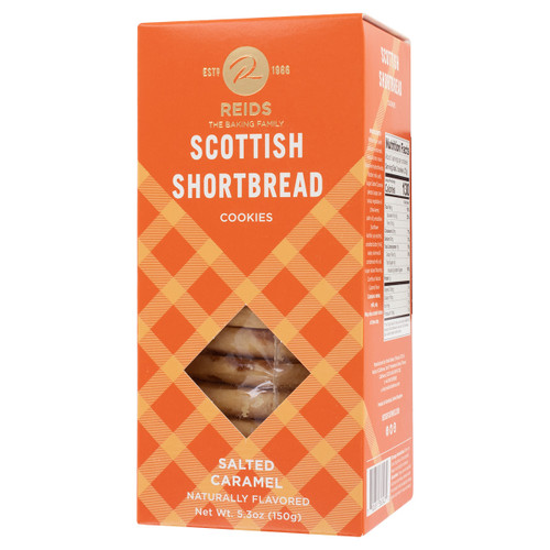 Reids Of Caithness Shortbread Carton, Salted Caramel 5.3oz (150g)