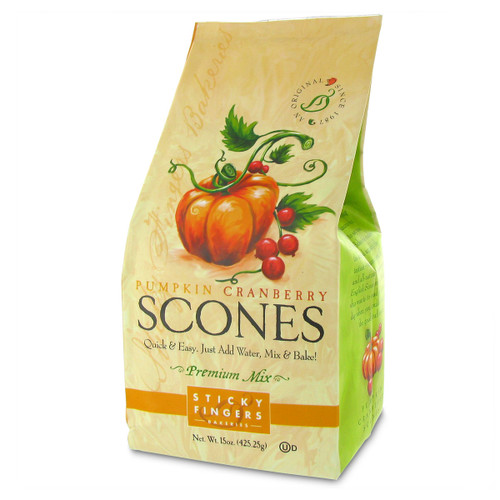 Scone Mix - Pumpkin Cranberry - 15oz (425g)