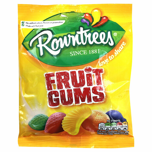 Nestle Rowntrees Fruit Gums Bag - 5.99oz (150g)