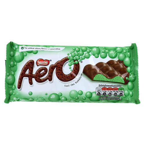 Nestle Aero Bar - Mint - 3.17oz (90g)