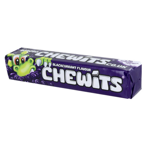 Chewits Blackcurrant - 1.41oz 40g