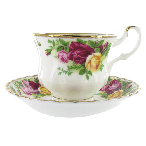 Royal Albert Old Country Roses Tea Cup & Saucer