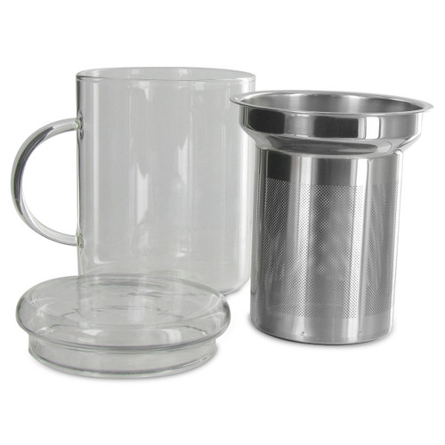 Glass Mug and Infuser - 14oz