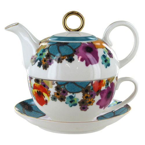 Multicolor Poppy Tea for One Set