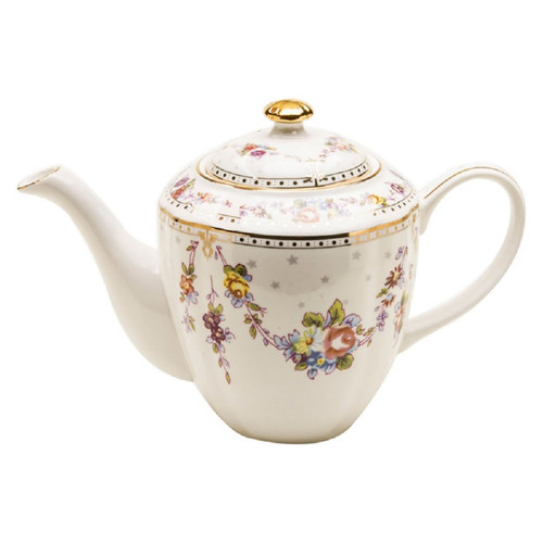 Rose Swag - 5 Cup Teapot