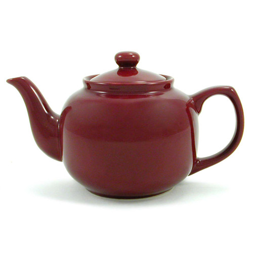 Amsterdam 6 Cup Teapot - Burgundy
