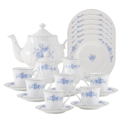 Royal Rose Porcelain Tea Set