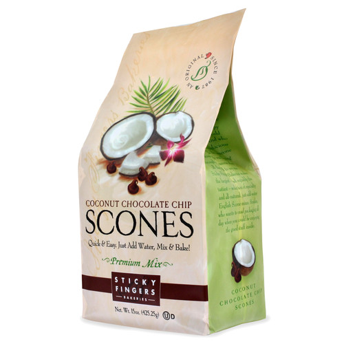 Scone Mix - Coconut Chocolate Chip - 15oz (425g)