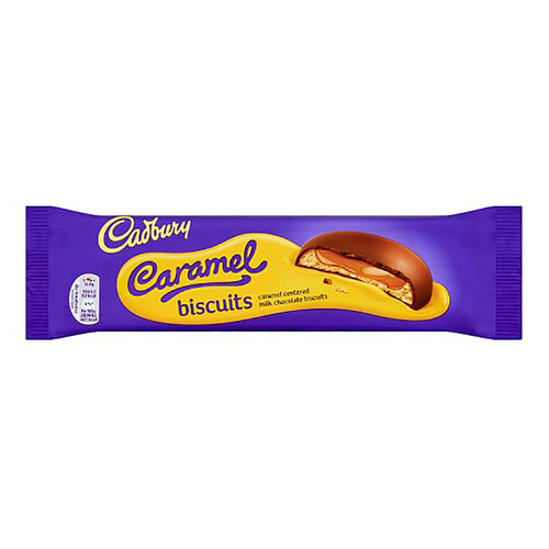 Cadbury Caramel Biscuit - 4.58oz (130g)