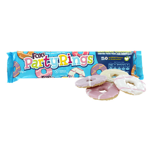 Fox's Party Ring Biscuits - 125g