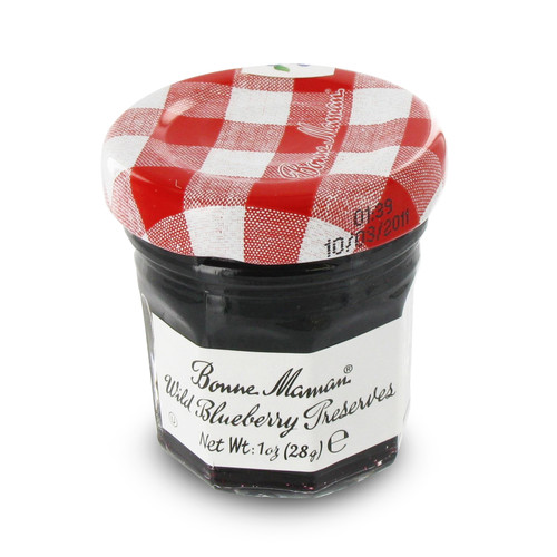 Bonne Maman Mini Preserves - Wild Blueberry - 1oz - Pack Size Option