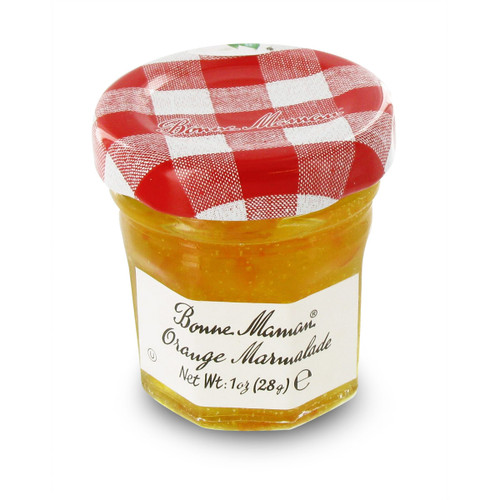 Bonne Maman Mini Preserves - Orange Marmalade - 1oz - Pack Size Option