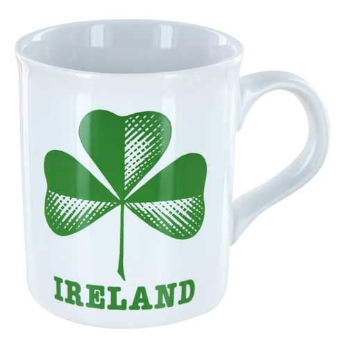 Irish Shamrock Ceramic Mug - 8oz