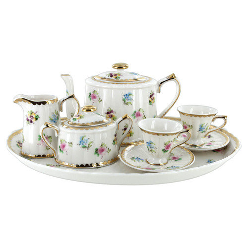 Childrens Tea Set -10 pcs - Petite Floral