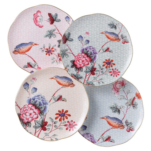 Wedgwood Harlequin Collection - Cuckoo - Tea Plates