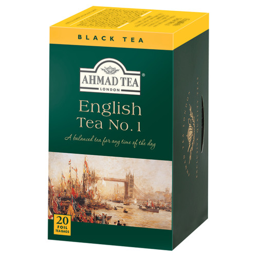 Ahmad Tea's English Tea No. 1 Tea Bags - 20 count