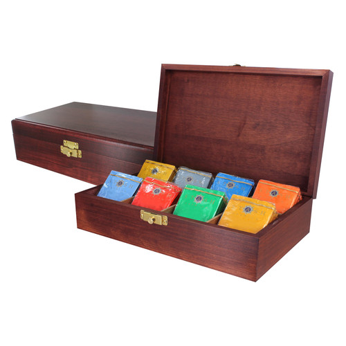 Tea Chests with Tea - Stash's Herbal Selections