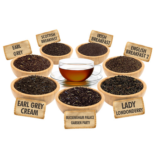 English Favorites Sampler - 1 ounce Pouches of 7 English Style Loose Leaf Teas