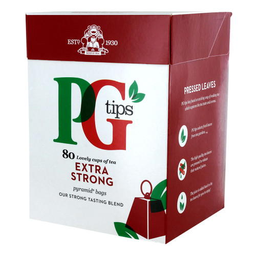 PG Tips - Extra Strong - 80 count