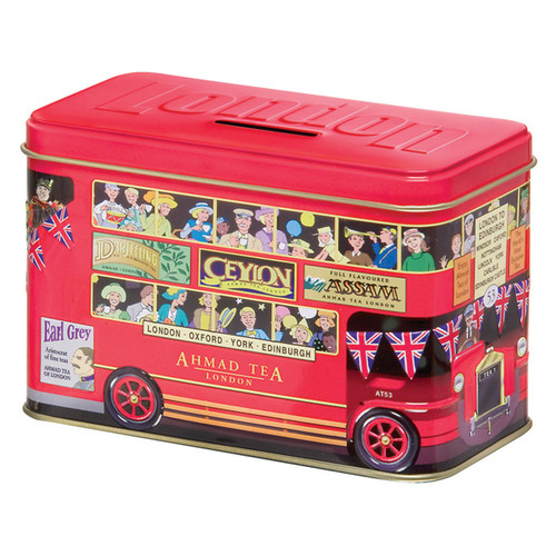 Ahmad Tea London Bus Tin - 20 Tea Bags