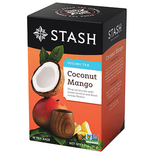 Stash Coconut Mango Wuyi Oolong Tea - 18 count