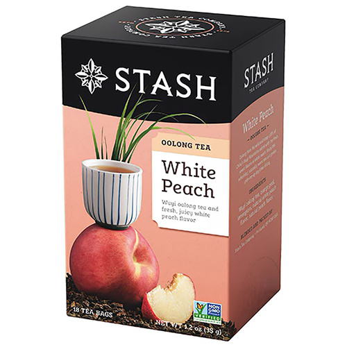 Stash White Peach Wuyi Oolong Tea - 18 count