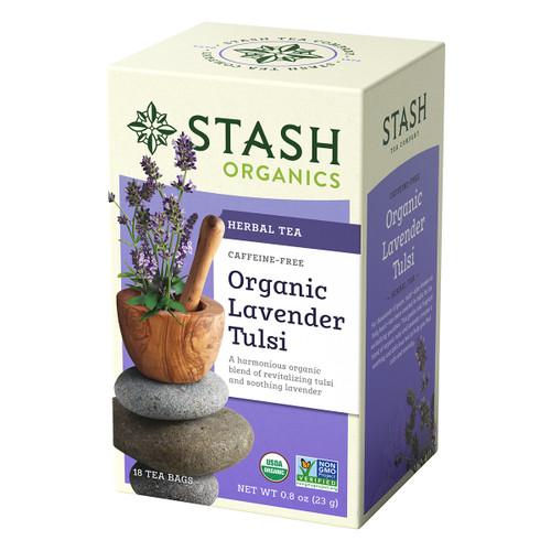 Stash Organic Lavender Tulsi - 18 count