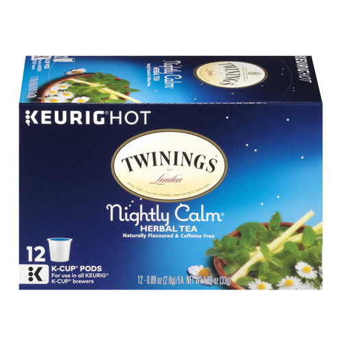 Twinings Goodnight Blend Tea K-Cups - 12 count