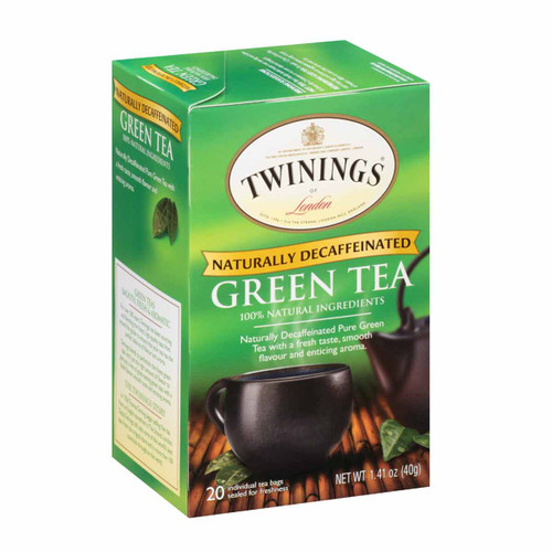 Twinings' Decaffeinated Green Tea - 20 count