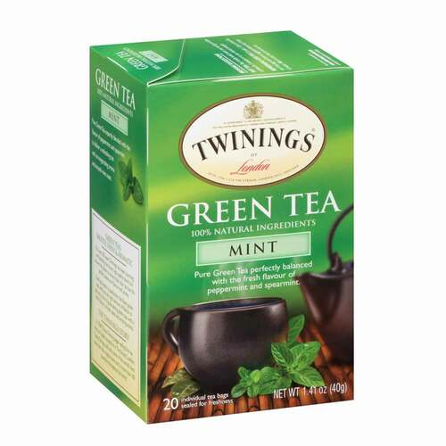 Twinings' Green Tea with Mint - 20 count