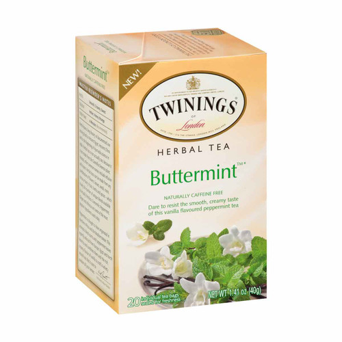 Twinings' Buttermint Herbal Tea - 20 count