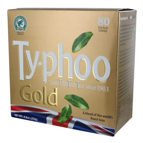 Typhoo Gold Tea Bags - 80 count