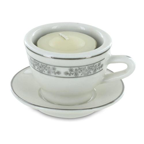 Miniature Tea Light Holder - Teacups and Tea Lights