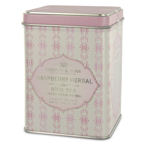Harney and Sons Iced Tea - Raspberry Herbal - 6 Brew Bags
