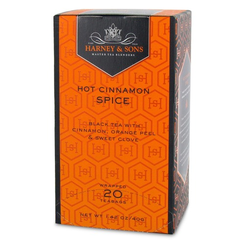 Harney and Sons Premium Tea - Hot Cinnamon Spice - 20 count