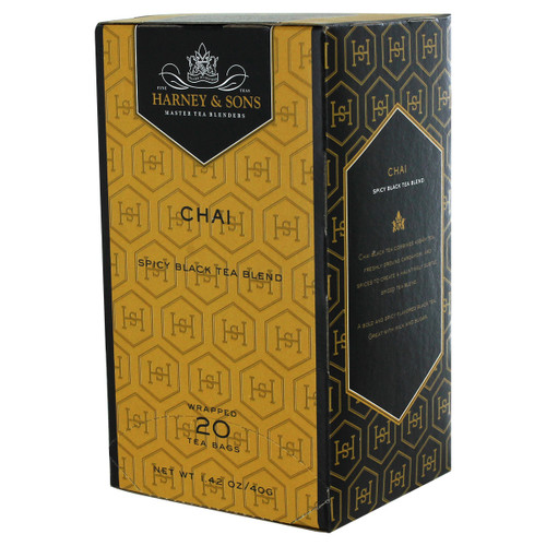 Harney and Sons' Premium Tea - Chai Blend - 20 count