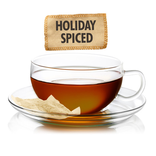 Holiday Spiced Flavored Black Tea - Sampler Size - 5 Tea Bags