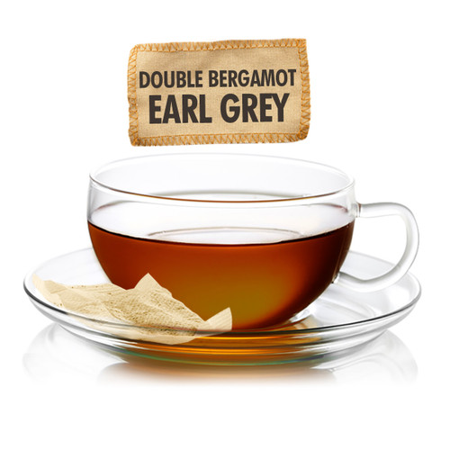 Double Bergamot Earl Grey Tea - Sampler Size - 5 Tea Bags