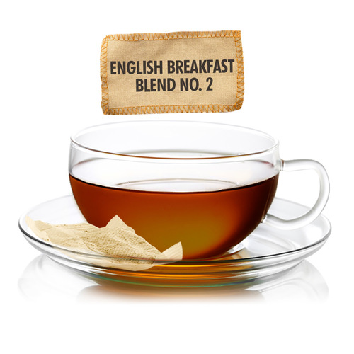 English Breakfast  Blend No. 2 Tea - Sampler Size - 5 Tea Bags