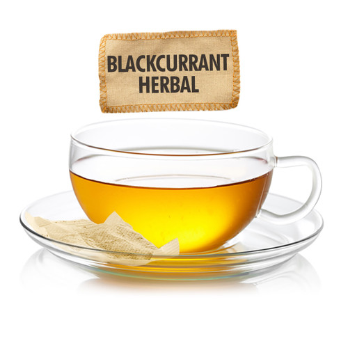 Blackcurrant Herbal Tea - Sampler Size - 5 Tea Bags