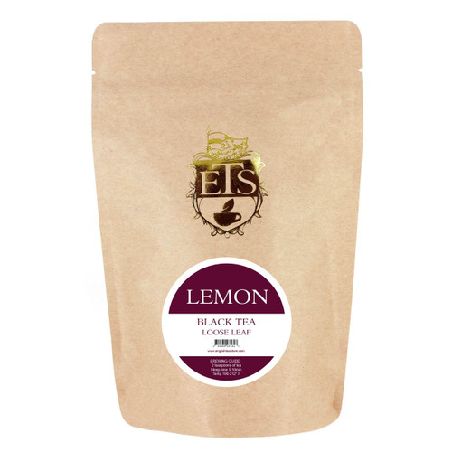Lemon Flavored Black Tea  - Loose Leaf