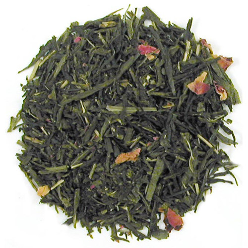 Sencha Kyoto Cherry Rose Festival Green Tea - Loose Leaf