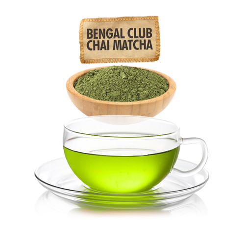 Bengal Club Chai Matcha Loose Leaf Tea - Sampler Size - 1oz