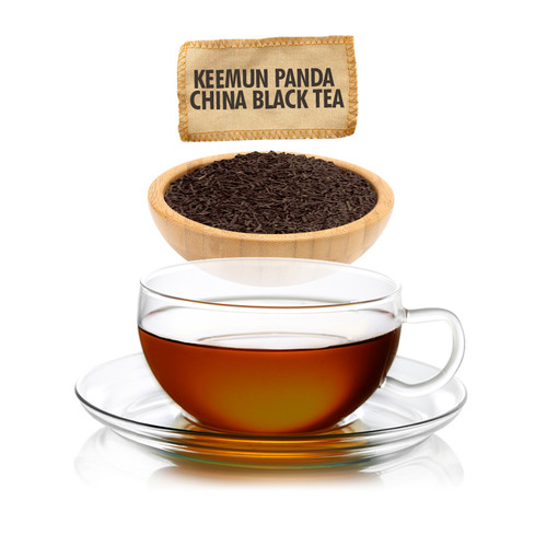 China Keemun Panda Tea - Loose Leaf - Sampler Size - 1oz
