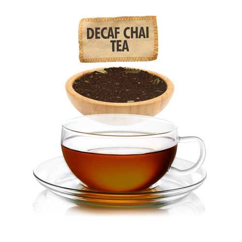 Decaf Chai Tea Loose Leaf - Sampler Size - 1oz