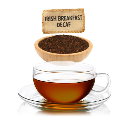 Irish Breakfast Decaf Tea - Loose Leaf - Sampler Size - 1oz