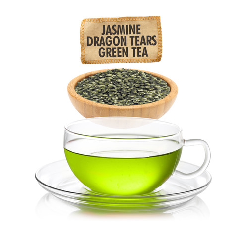 Jasmine Dragon Tears Green Tea - Loose Leaf - Sampler Size - 1oz