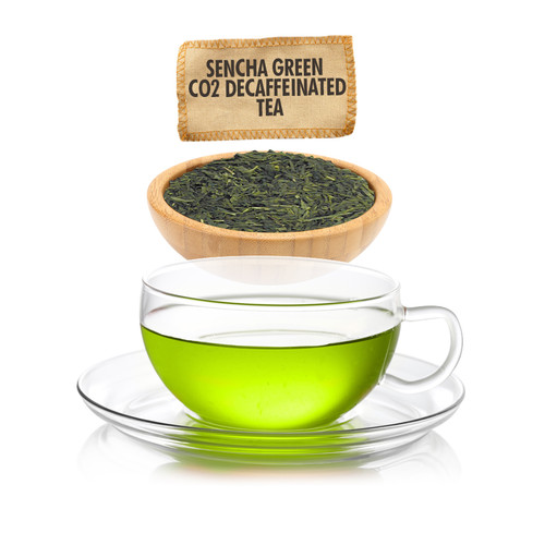 Sencha CO2 Decaf Green Tea - Loose Leaf - Sampler Size - 1oz